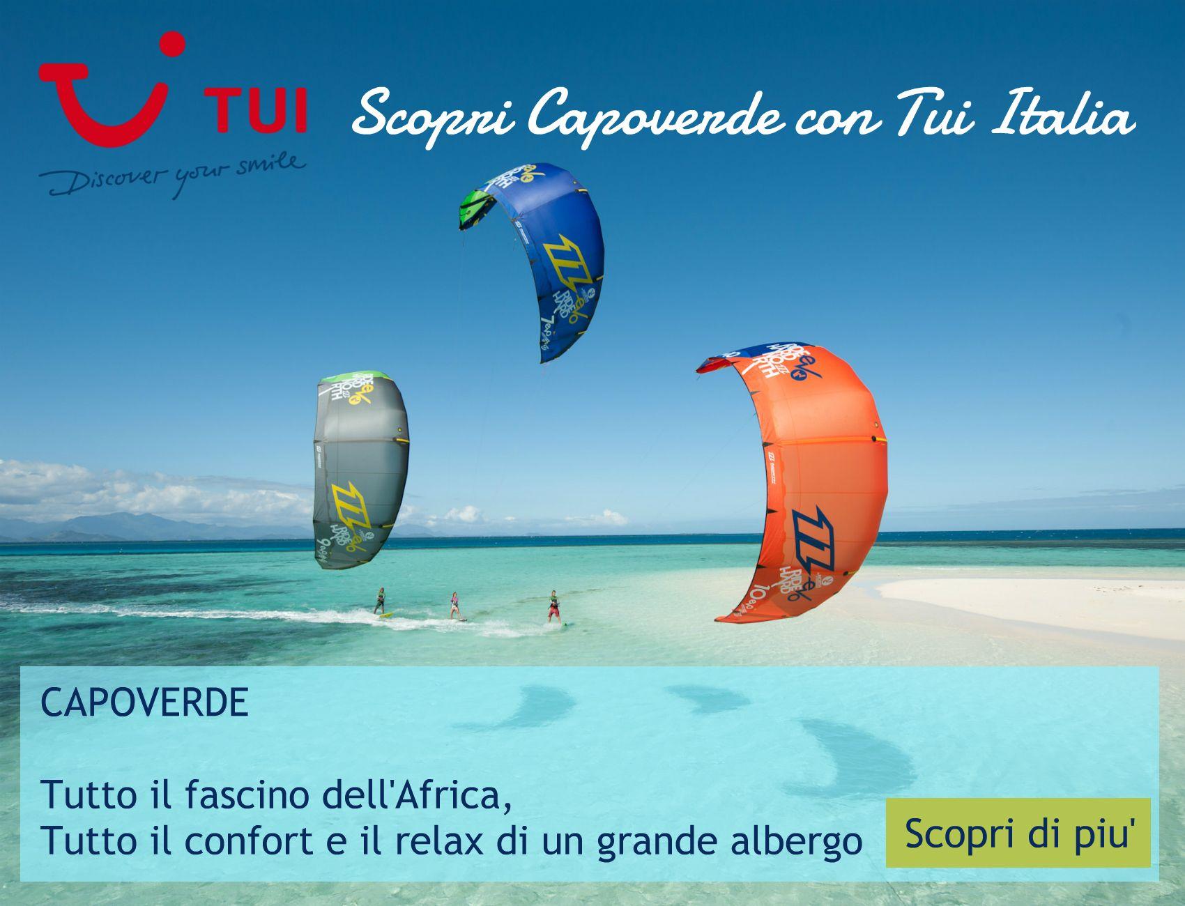 Kite surf a Capo Verde con TUI